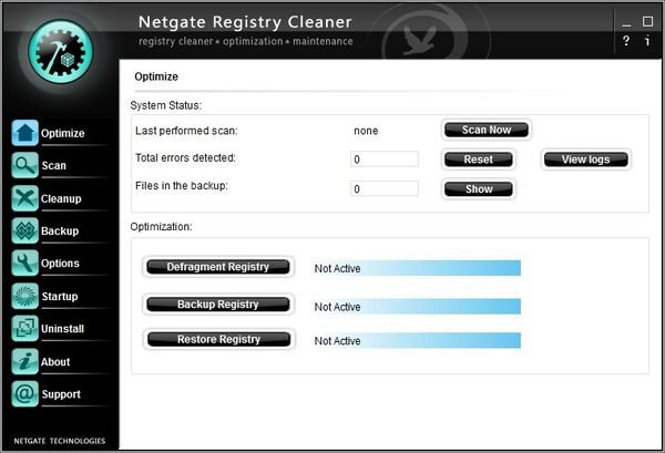 NETGATE Registry Cleaner 15 - ������� ����